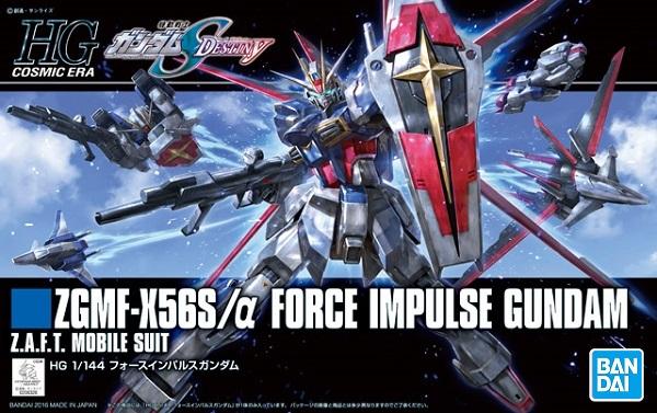 BANDAI HGUC 1/144 #198 鋼彈SEED Destiny ZGMF-X56S/α 威力脈衝鋼彈 鋼彈SEED,脈衝