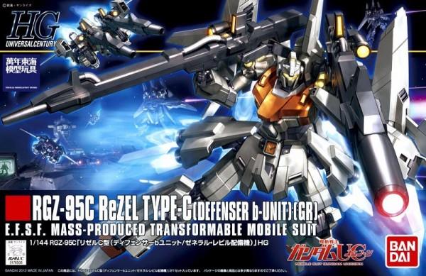 HGUC 1/144 #142 RGZ-95C ReZEL TYPE-C 鋼彈UC 里歇爾 雷比爾將軍號配備機 B式樣