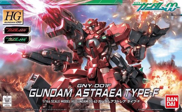 BANDAI HG00 1/144 #62 正義女神鋼彈 GUNDAM ASTRAEA TYPE-F 組裝模型 鋼彈,HG 00,1/144,