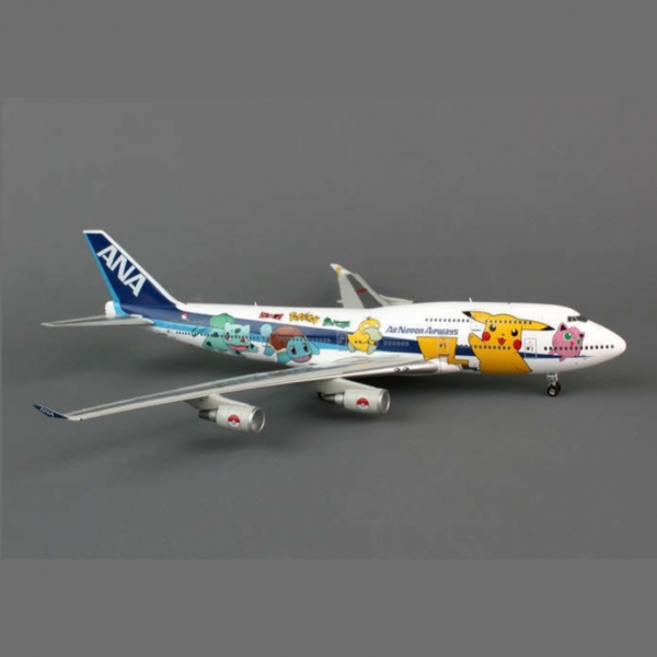 AVIATION 200 / 1/200 / ANA 747-400 / 神奇寶貝 POCKET MONSTERS JA8962 AVIATION 200,1/200,ANA 747-400D,神奇寶貝,POCKET MONSTERS