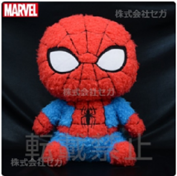 SEGA 景品 漫威Marvel 蜘蛛人MOAMOO 絨毛玩偶 SEGA,景品,漫威,Marvel,蜘蛛人,MOAMOO,絨毛玩偶,