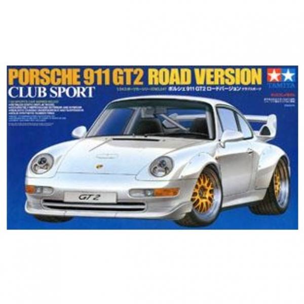 TAMIYA 田宮 1/24 #24247 Porsche 保時捷 GT2 Road Version Club Sport 田宮 TAMIYA , 組裝模型, 保時捷