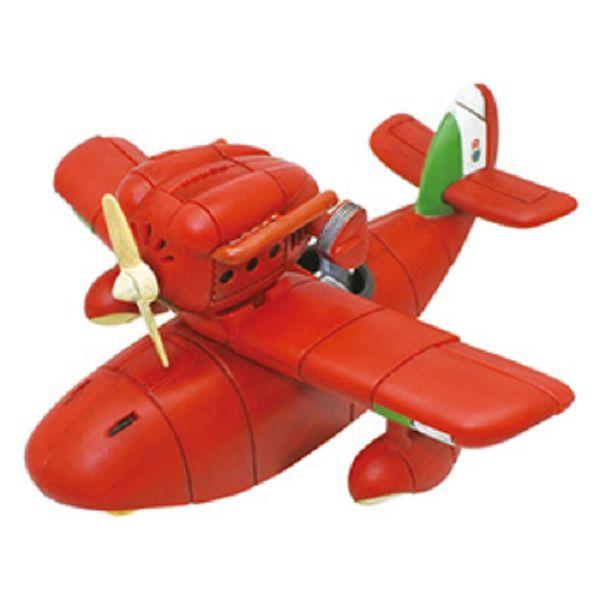 ENSKY 吉卜力 迴力車系列 PBC-0 紅豬 Savoia S.21戰鬥飛行艇原型 ENSKY,吉卜力,迴力車系列,PBC-09,紅豬,Savoia S.21,戰鬥飛行艇