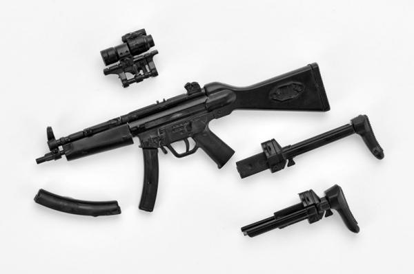 Tomytec / 1/12 / 迷你武裝 / LA033 MP5A4/5型 Tomytec,1/12,迷你武裝,LA033,MP5A4/5 TYPE