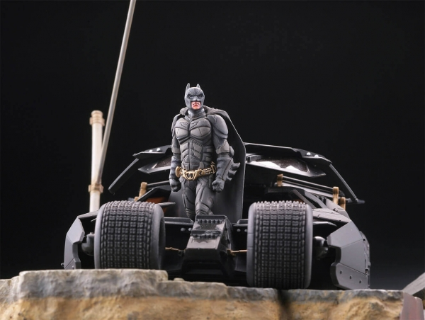 KAIYODO / 山口遺產 / DC / 黑暗騎士 / 蝙蝠俠 & 蝙蝠車 in 高譚市 KAIYODO,山口遺產,DC,黑暗騎士,蝙蝠俠,蝙蝠車,高譚市
