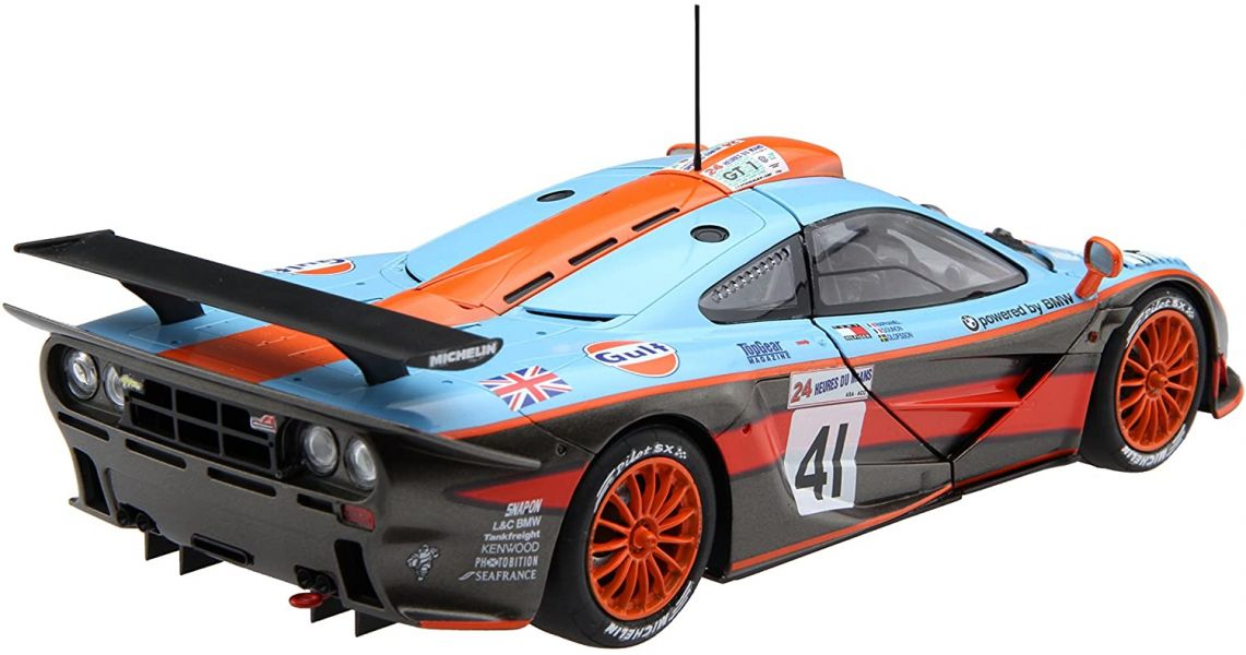 FUJIMI 1/24 RS-45 MCLAREN F1 GTR Long Tail 1997-41 富士美 組裝模型 FUJIMI, 1/24, RS-45, MCLAREN F1 GTR Long Tail, 1997-41, 富士美, 組裝模型