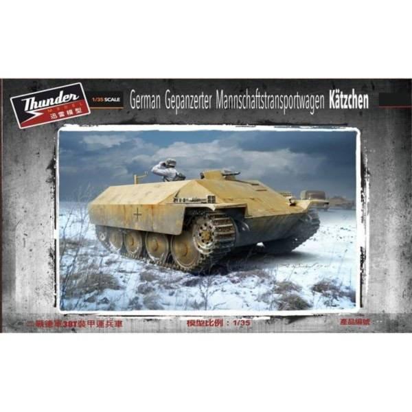 THUNDER MODEL 1/35 德軍 裝甲兵員輸送車 Katzchen THUNDER MODEL,1/35,德軍,裝甲兵員輸送車,Katzchen