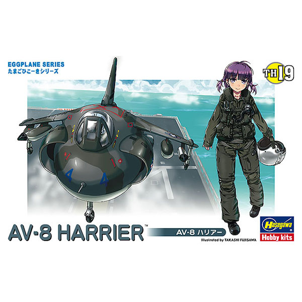 Hasegawa / 蛋機 / AV-8獵鷹II式攻擊機 組裝模型 Hasegawa,蛋機,AV-8獵鷹II式攻擊機