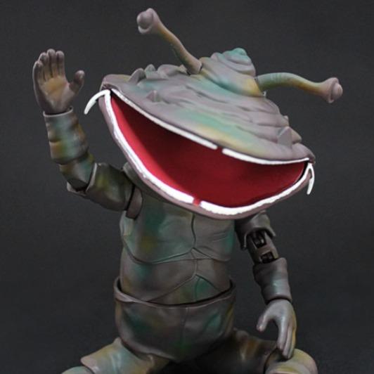Evolution Toy / MAF / 吃錢怪獸 卡內貢 紅超人版 可動人形 Evolution Toy,MAF,超異象之謎,吃錢怪獸,卡內貢,紅超人