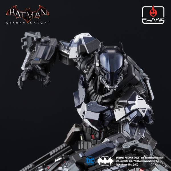 Flame Toys 人機巧 蝙蝠俠:阿卡漢騎士 阿卡漢騎士 已塗裝合金可動完成品 Flame Toys ,人機巧 ,蝙蝠俠:阿卡漢騎士, 阿卡漢騎士 ,已塗裝合金可動完成品