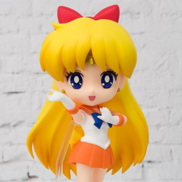 BANDAI / Figuarts mini / 美少女戰士 角色公仔 / 金星仙子 BANDAI,Figuarts mini,美少女戰士,金星仙子