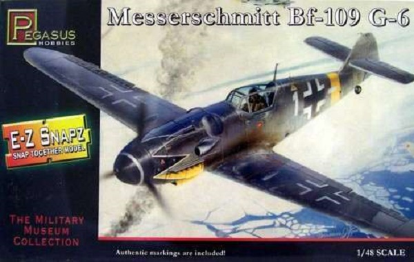 Pegasus 1/48 WW.II 德軍 梅塞施密特 BF109G-6 PH8413 組裝模型 Pegasus,1/48,WW.II,德軍,梅塞施密特,BF109G-6,PH8413,組裝模型,