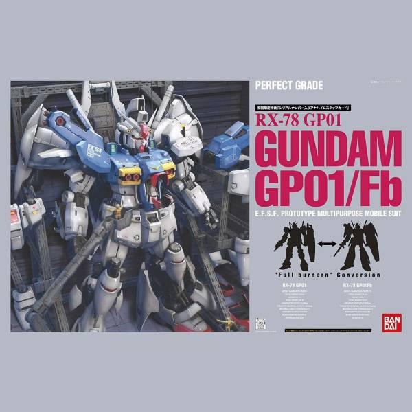 BANDAI PG 1/60 RX-78 GP01/Fb 鋼彈試作1號機 機動戰士鋼彈 0083 PG,1/60,機動戰士鋼彈 0083,RX-78 GP01/Fb,鋼彈試作1號機
