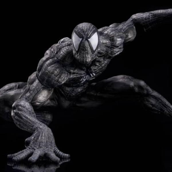 千值練 / SOFT VINYL / 漫威 MARVEL / sofbinal Spiderman 黑裝蜘蛛人 雕像 千值練,SOFT VINYL,漫威,MARVEL,sofbinal Spiderman,黑裝蜘蛛人,雕像