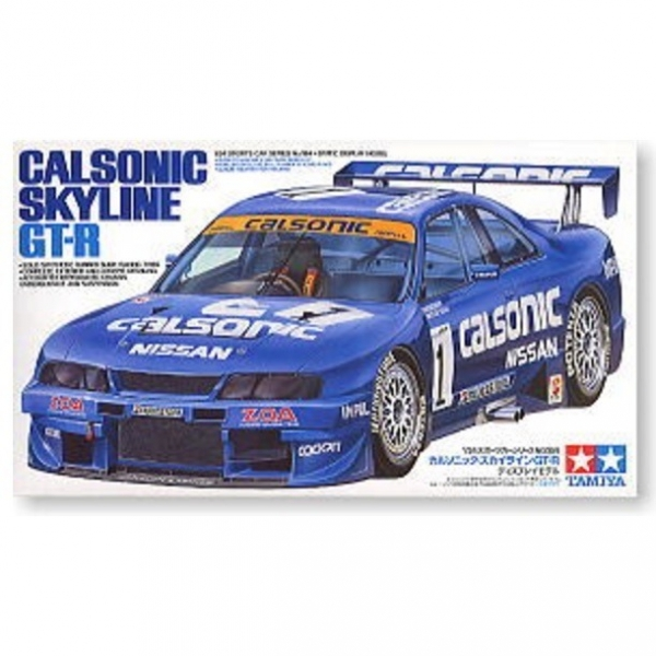 [缺貨再到] TAMIYA 田宮 1/24 #24184 Calsonic Skyline GT-R R33 田宮, TAMIYA , 組裝模型,24184, Calsonic, Skyline, GT-R, R33