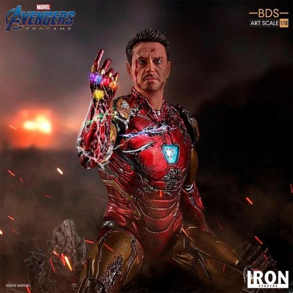 Iron Studio / 1/10 / 漫威 / 復仇者聯盟 終局之戰  / I am Iron Man / 鋼鐵人 雕像  Iron Studios,1/10,漫威,復仇者聯盟 : 終局之戰, I am Iron Man,鋼鐵人,雕像