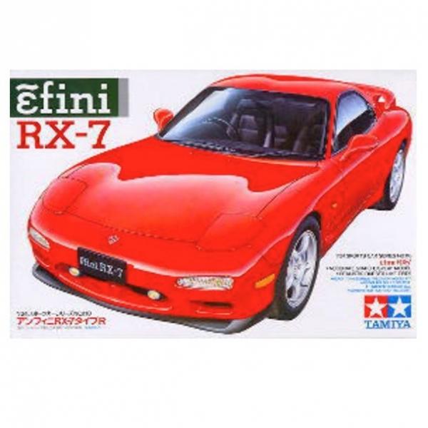 TAMIYA 田宮 1/24 #24110 Mazda Efini RX-7 TAMIYA, 田宮, 1/24, 24110, Mazda, Efini, RX-7