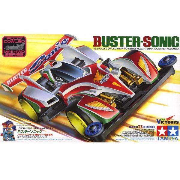 TAMIYA 田宮 1/32 #19423 迷你四驅車 軌道車 Buster-Sonic Super TZ底盤 TAMIYA, 田宮, 1/32,19423,迷你四驅車,軌道車, Buster-Sonic, Super TZ底盤