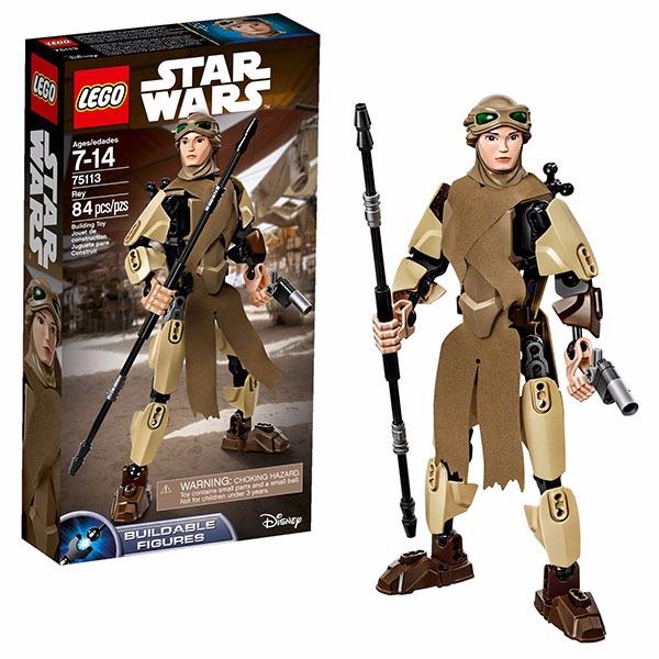 樂高積木LEGO 電影主題系列 星際大戰 Star Wars 75113 芮 Rey