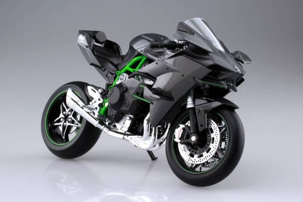 [已塗裝完成品] AOSHIMA / 1/12 / KAWASAKI / Ninja H2R / 機車模型 AOSHIMA,1/12,KAWASAKI,Ninja,H2R,機車模型