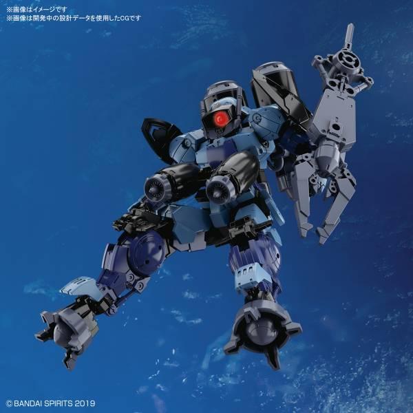 BANDAI 1/144 30MM #30 bEXM-15 波塔諾瓦 水中規格 藍灰色 組裝模型 BANDAI,1/144,30MM,#30, bEXM-15,波塔諾瓦,水中規格,藍灰色