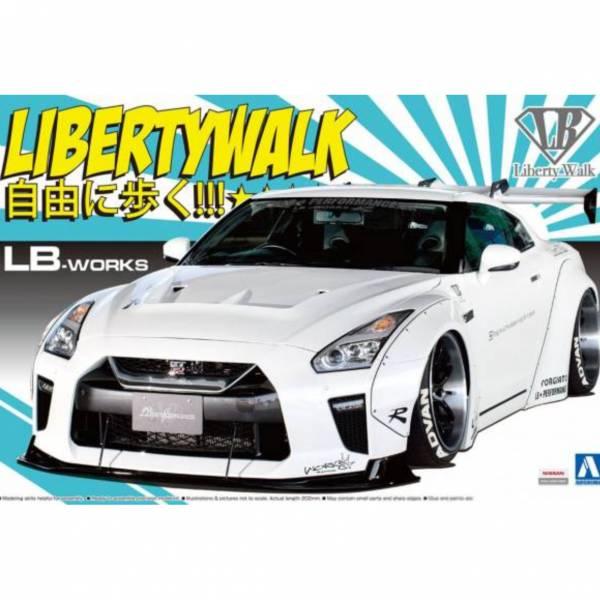 [超高人氣套件,必入手] AOSHIMA / 1/24 / LB WORKS / R35 GT-R type 1.5 / 寬體王者 / 組裝模型 AOSHIMA,青島,1/24,LB WORKS,R35,GT-R,超跑,汽車,type 1.5