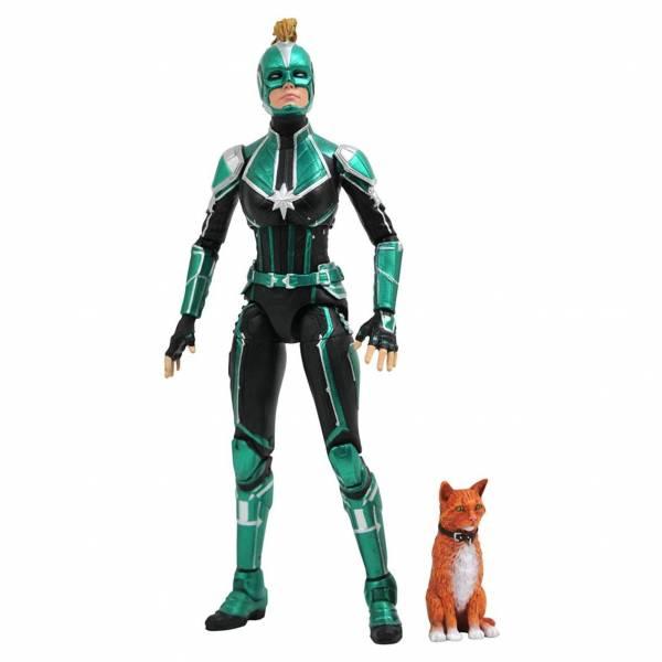Diamond Select Toys Marvel Select 漫威 驚奇隊長 克里人戰士服 7吋可動公仔 Diamond,漫威,MARVEL,驚奇隊長,克里人戰士服