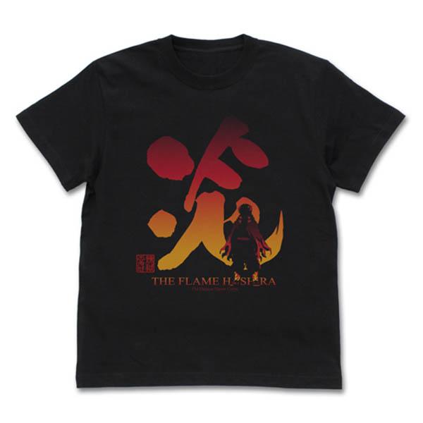 COSPA 鬼滅之刃 炎柱 煉獄杏壽郎 短袖T恤 黑色 COSPA,鬼滅之刃,炎柱,煉獄杏壽郎,短袖T恤,黑色