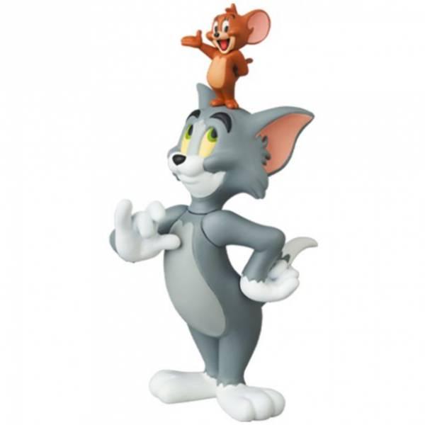Medicom Toy UDF NO.601 湯姆貓與傑利鼠 傑利在湯姆的頭上 JERRY on TOM'S HEAD Medicom Toy,UDF NO.601,湯姆貓與傑利鼠,傑利在湯姆的頭上,JERRY on TOM'S HEAD