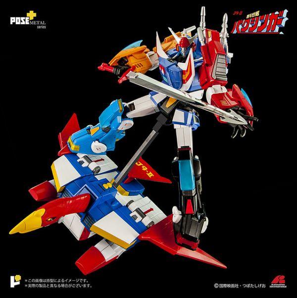 POSE+ 02DX Baxingar X Baxinbird DX 銀河烈風幕臣我 DX 套裝 POSE+,02DX,Baxingar,Baxinbird DX,銀河烈風幕臣我,DX