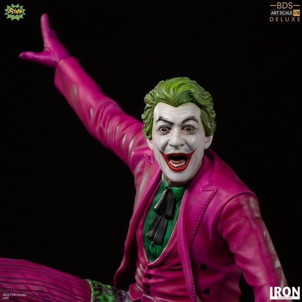 Iron Studio 1/10 蝙蝠俠1966 小丑 Joker 衝浪造型 豪華版 雕像 Iron Studio,1/10,蝙蝠俠1966,小丑 Joker,衝浪造型,豪華版,雕像