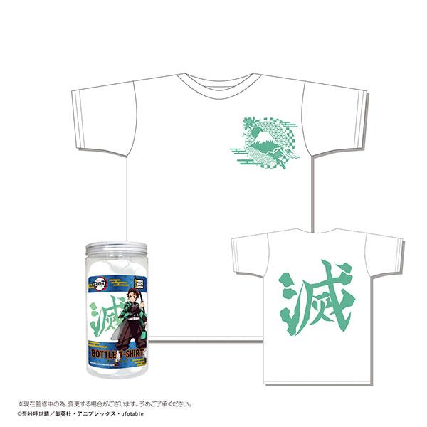 MAX LIMITED 鬼滅之刃 瓶裝短袖T恤 C款 白色 MAX LIMITED,鬼滅之刃,瓶裝短袖T恤,C款,白色