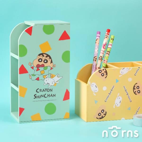 Norns 蠟筆小新 木製三格收納置物架 全2種 個別販售 Norns,蠟筆小新,木製三格收納置物架