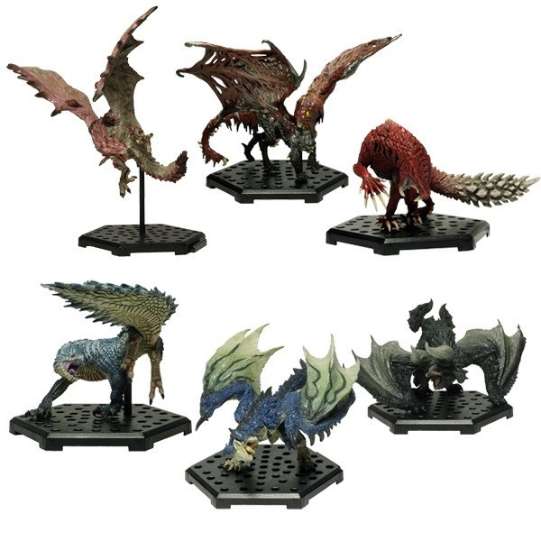 CAPCOM 盒玩 魔物獵人魔物集Plus Vol.11 全6種  一中盒6入販售 CAPCOM,盒玩,魔物獵人魔物集Plus,Vol.11,全6種,一中盒6入販售