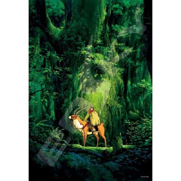 ENSKY / 拼圖系列 / 宮崎駿 吉卜力 / 魔法公主 旅立 啟程 300片 ENSKY,拼圖系列,宮崎駿,吉卜力,魔法公主,旅立,啟程