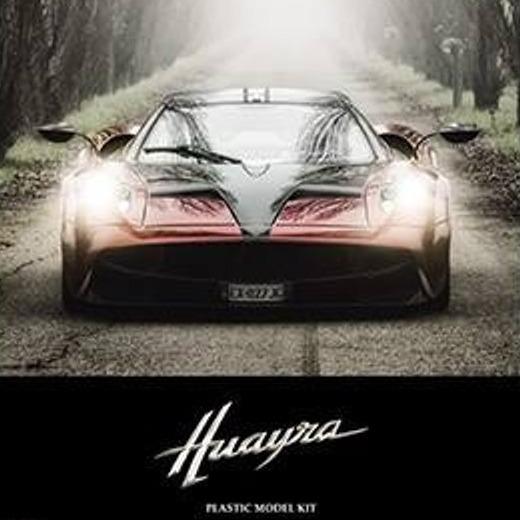 [全開式超跑] AOsHIMA / 1/24 / Pagani 風神 / Huayra / 全開式 / 超級跑車 海外版 / 組裝模型 AOSHIMA, 青島, 1/24,風神, Pagani, Huayra, 全開式, 超級跑車,組裝模型