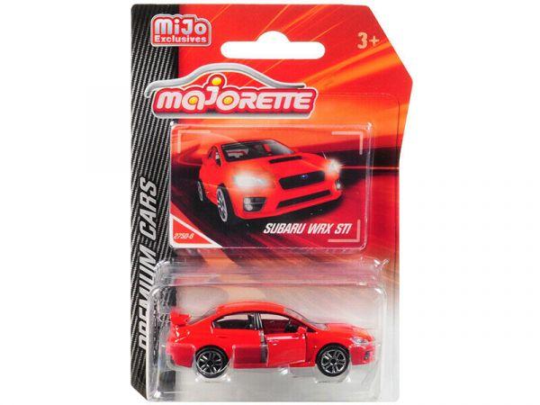Majorette / 1/64 / 速霸陸Subaru WRX  紅色 合金完成品 Majorette,速霸陸,Subaru WRX