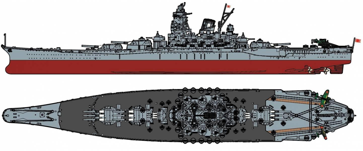 1/700 戰艦 大和 黑甲板仕樣 天一號作戰 1945 FUJIMI 艦NX1EX3 日本海軍 富士美 組裝模型 FUJIMI,1/700,艦NEXT,艦NX,NEXT,戰艦,大和,天一號作戰,1945,