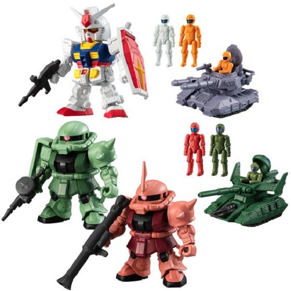 [日版] BANDAI / 盒玩 / 機動戰士鋼彈 / Micro Wars / 微型戰爭 / 全5種 / 一中盒10入販售 BANDAI,盒玩,機動戰士鋼彈,Micro Wars,微型戰爭,全5種,一中盒10入販售