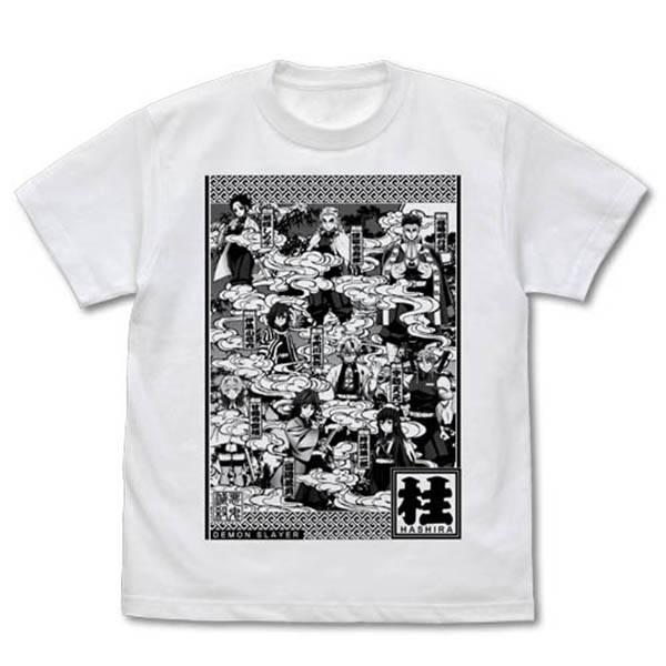 [再販] COSPA / 鬼滅之刃 / 九柱圖樣 / 短袖T恤 白色 COSPA,鬼滅之刃,九柱圖樣,短袖T恤