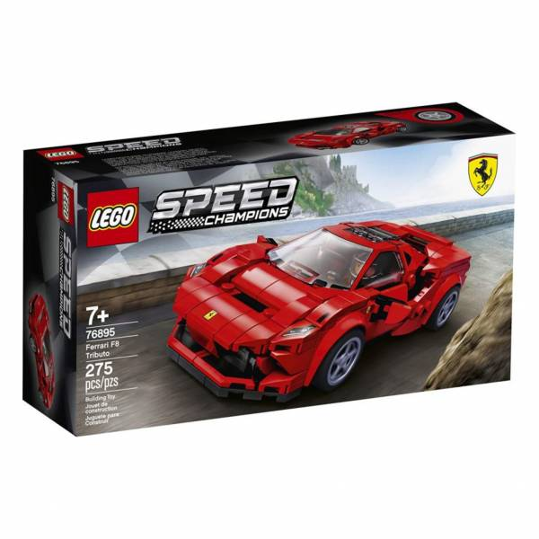 LEGO 樂高 #76895 Speed Champions 法拉利Ferrari F8 Tributo  LEGO,樂高,76895,法拉利,Speed Ferrari F8 Tributo