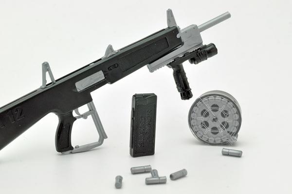 Tomytec / 1/12 / 迷你武裝 / LA018 / AA-12 Type 自動霰彈槍 Tomytec,1/12,迷你武裝,LA018,AA-12 TypE,自動霰彈槍