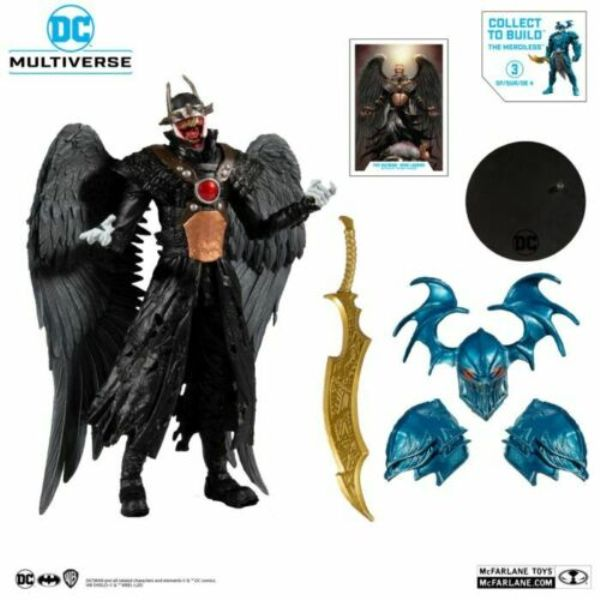 McFarlane Toys DC MULTIVERSE BUILD-A 大笑蝙蝠俠 鷹俠 Ver. 無情戰神配件 McFarlane Toys,DC,MULTIVERSE,BUILD A,大笑蝙蝠俠,鷹俠,Ver,無情戰神,配件,