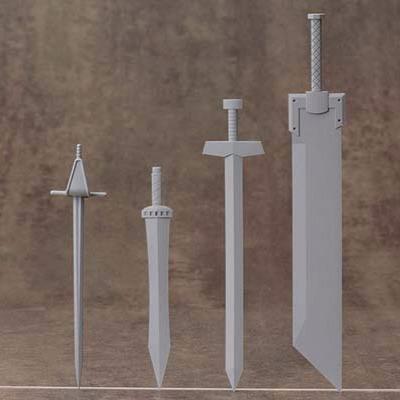 Kotobukiya / MSG / 武裝零件 / MW33 / 騎士劍組 Kotobukiya,MSG,武裝零件,MW33,騎士劍組