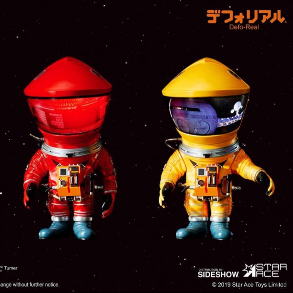Star Ace / Defo-Real 擬真變形系列 / 太空漫遊 宇航員 Discovery Astronaut 紅色&黃色2入組 / 全2種販售 Star Ace,Defo-Real,擬真變形系列,太空漫遊 宇航員,Discovery Astronaut
