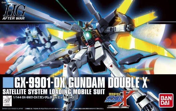 HGAW 1/144 #163 GX-9901-DX 鋼彈DX 鋼彈X