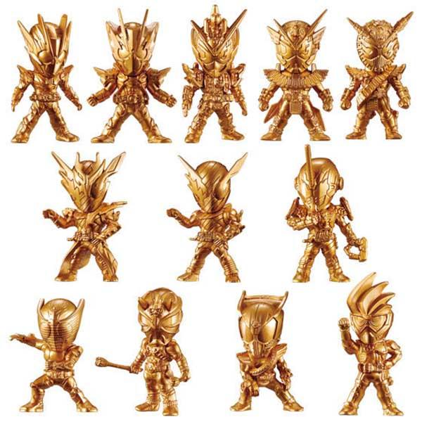 BANDAI 盒玩 假面騎士 GOLD FIGURE 03 全16種 一中盒16入販售 BANDAI,盒玩,假面騎士,GOLD FIGURE 03