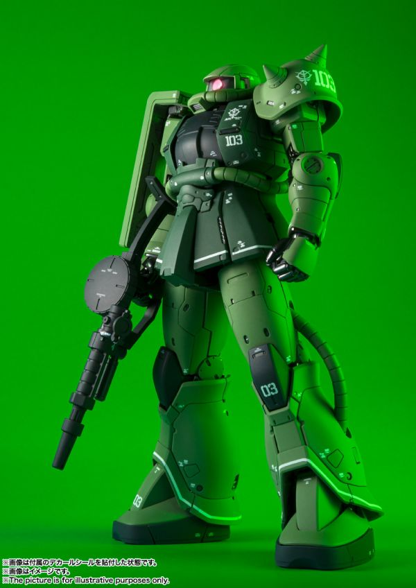 BANDAI G.F.F. METAL COMPOSITE MS-06C 薩克Ⅱ C型 機動戰士鋼彈 THE ORIGIN BANDAI,G.F.F. METAL COMPOSITE,MS-06C 薩克Ⅱ C型,機動戰士鋼彈 THE ORIGIN