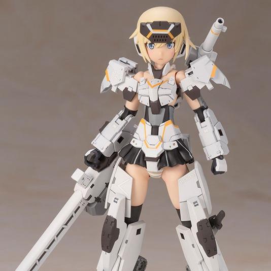 Kotobukiya / Frame Arms Girl 骨裝機娘 / 轟雷改 白 Ver.2 / 組裝模型 Kotobukiya,Frame Arms Girl,骨裝機娘,轟雷改 白 Ver.2,組裝模型