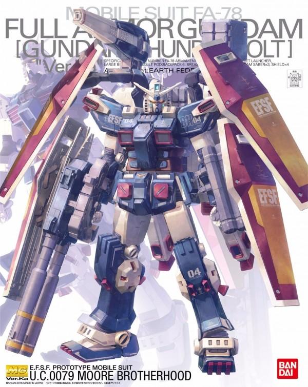 BANDAI MG 1/100 雷霆宙域 全裝甲鋼彈 Ver.Ka MG,雷霆宙域,全裝甲鋼彈,KATOKI